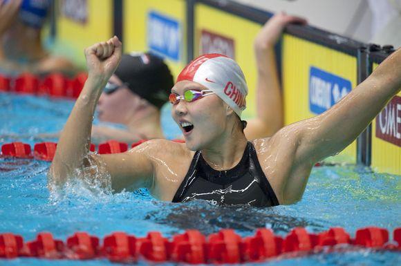 Kinė Zhao Jing Švedijos sostinėje pagerino tris pasaulio rekordus