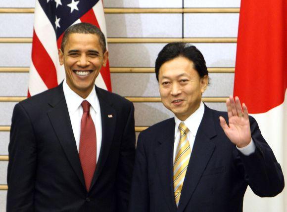JAV prezidentas Barackas Obama susitiko su Japonijos premjeru Yukio Hatoyama.