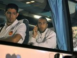 AFP/Scanpix nuotr./Alžyro rinktinės autobusas