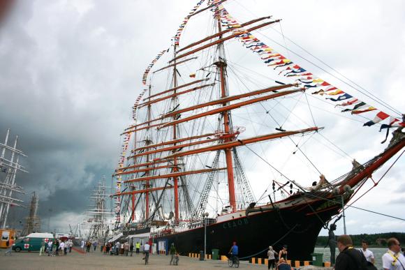 """Klaipėdiečiai šią savaitę keliauja į Turkiją, kur pateiks šią vasarą uostamiestyje vykusios regatos """"The Tall Ships'Races"""" ataskaitą."""