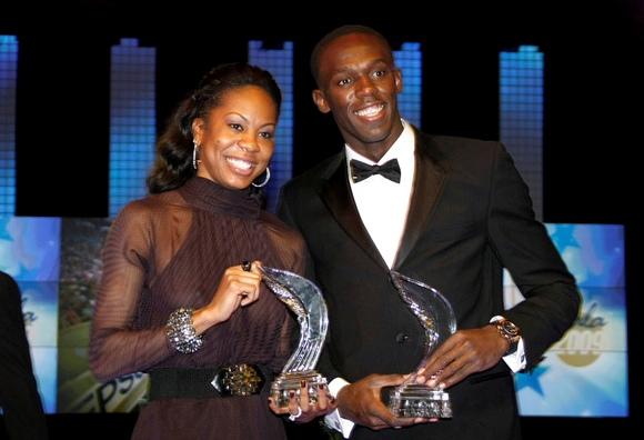 Geriausi 2009 metų pasaulio lengvaatlečiai – Usainas Boltas ir Sanya Richards