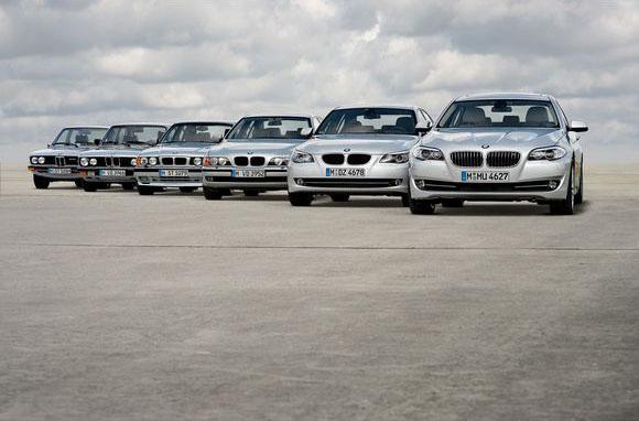Visi BMW 5 modeliai