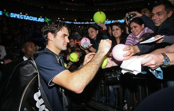 R.Federeris penktą kartą metus baigs pirmoje ATP reitingo vietoje