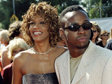 """Scanpix"" nuotr./Whitney Houston su buvusiu vyru"