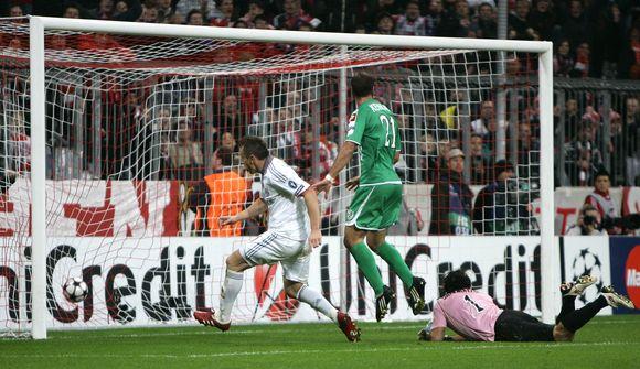 """I.Oličiaus įvartis, pergalė ir palankus rezultatas kitose grupės rungtynėse leido """"Bayern"""" lengviau atsikvėpti"""