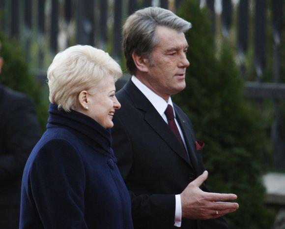 Lietuvos ir Ukrainos vadovų susitikimas