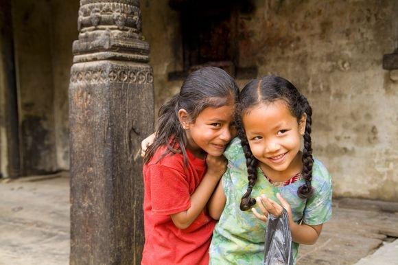 Scanpix nuotr./Nepalo vaikų gyvenimas nelepina.