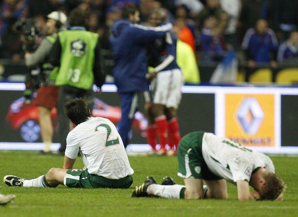 Airija visais būdais siekia patekti į 2010 metų pasaulio futbolo čempionatą