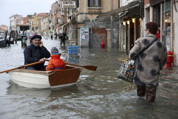 Potvynis Venecijoje