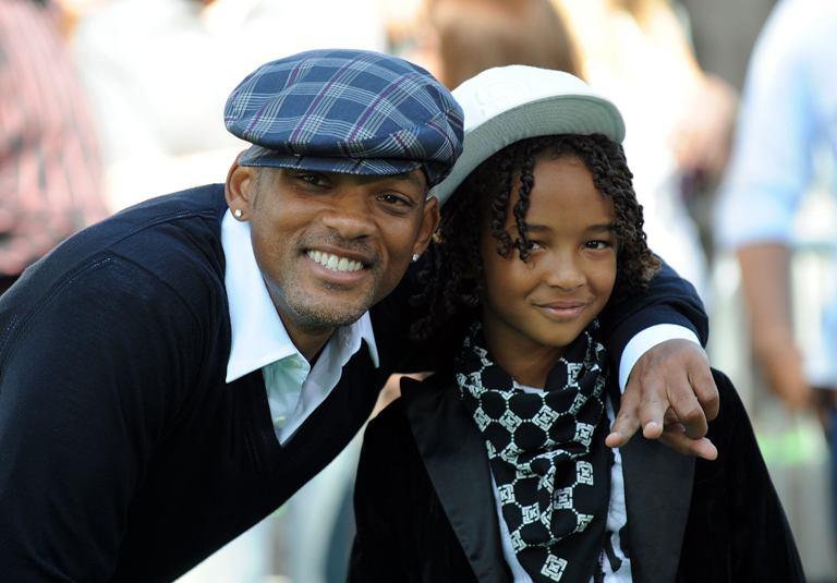Willas Smithas su sūnumi Jadenu