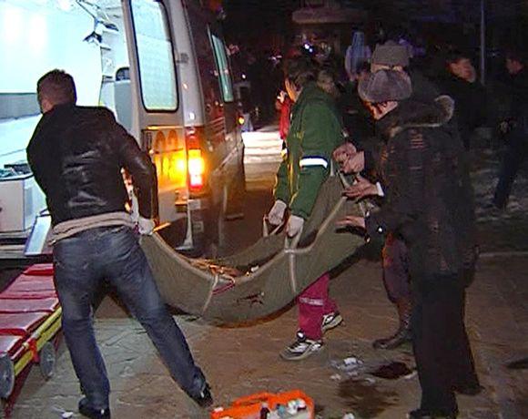 Kilus gaisrui Permės naktiniame klube žuvo daugiau nei šimtas žmonių