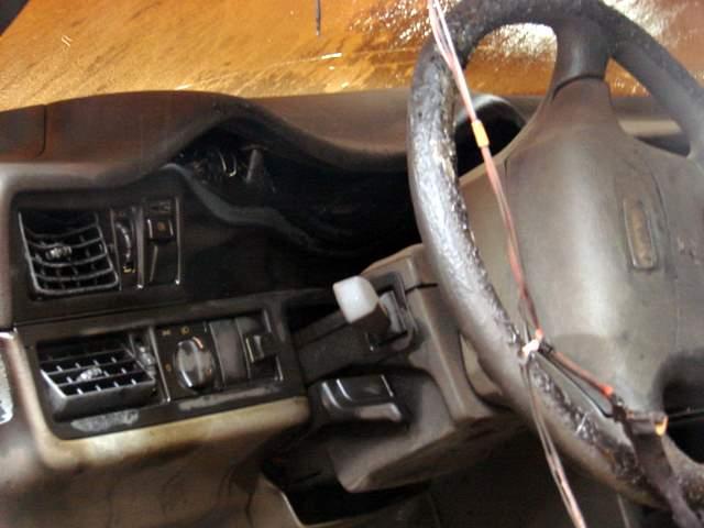 Apdegęs automobilis
