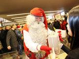 Eriko Ovčarenko/15min.lt nuotr./Į Kauną pirmą kartą Lietuvos istorijoje atvažiavo pagrindinis pasaulio Kalėdų Senelis (Santa Claus).
