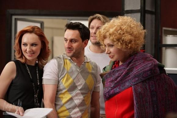Dainius Kazlauskas (viduryje)