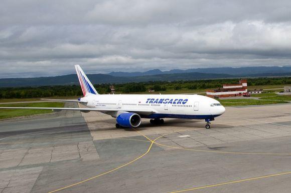 """Transaero"" lėktuvas"