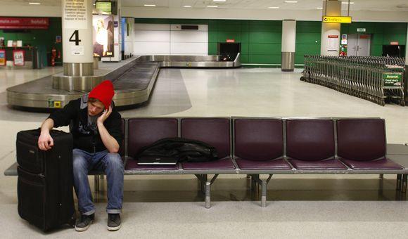 Edinburo oro uostas dėl pūgos buvo paralyžiuotas