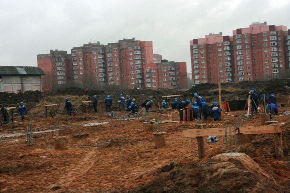 15min.lt nuotr./Gruodį oficialiai prasidėjo Klaipėdos arenos statybos.