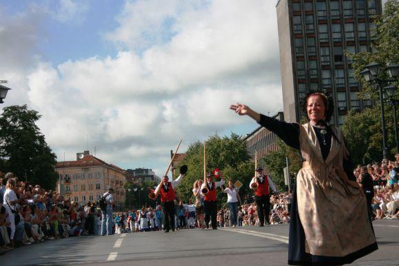 """Europos tautų kultūrų šventė """"Europiada"""" į Klaipėdą atviliojo šokėjus ir dainorėlius iš 22 šalių."""