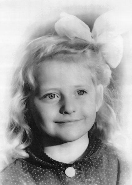 Dalia Grybauskaitė vaikystėje