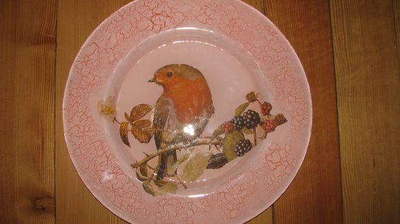 Dekoruota lėkštė