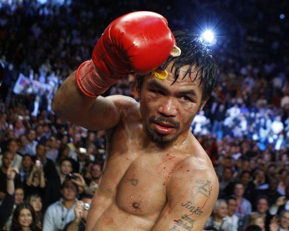M.Pacquiao atsisakė atlikti dopingo testą