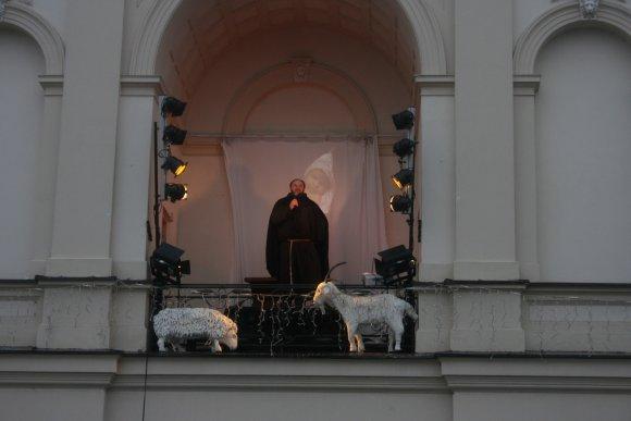 G.Kubiliūtės nuotr./Klaipėdiečiams Kalėdų proga buvo padovanotas vaidinimas.
