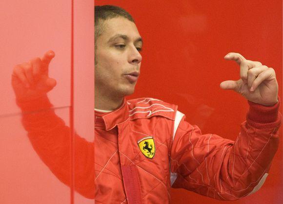 """V.Rossi važiavimas """"Ferrari"""" nebūtų naujiena"""