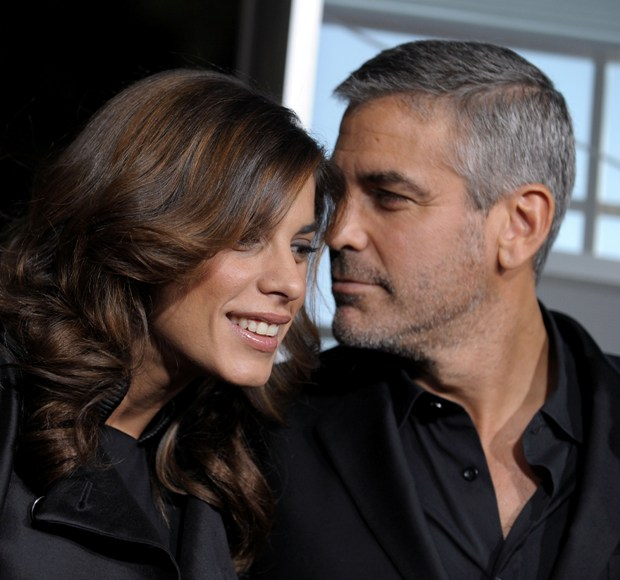 George'as Clooney ir Elisabetta Canalis