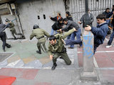 "AFP/""Scanpix"" nuotr./Protestai Irane"
