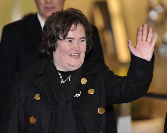 Dainininkė Susan Boyle