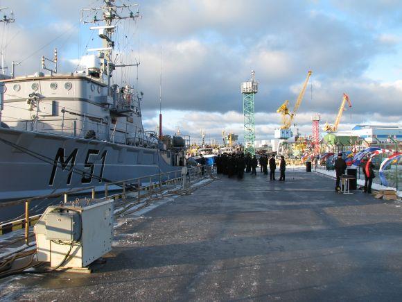 Karo laivų flotilė.