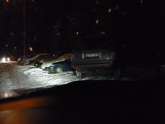 15min.lt Skaitytojo Dmitrijaus nuotr./Fotopolicija: Land Roveris