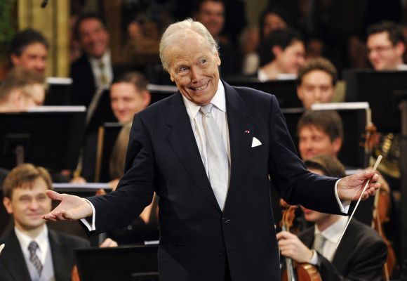 Maestro Georges Pretre Vienos filharmonijoje