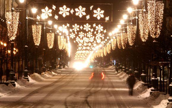 Žiemiška naktis Vilniuje