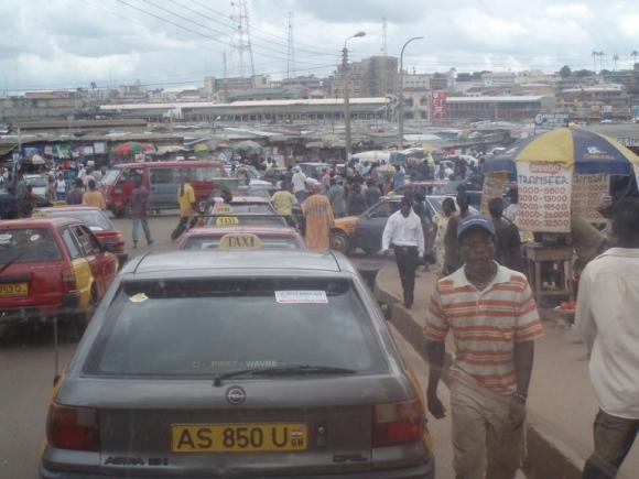 Kumasio turgus.