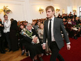 Eriko Ovčarenko/15min.lt nuotr./Kauno miesto rotušėje vyko tradicinė padėkos ceremonija.