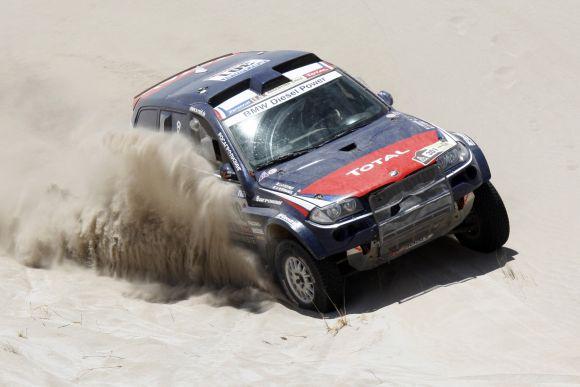 Automobilių grupėje lyderiu tapęs S.Peterhanselis siekia 10-ojo Dakaro ralio čempiono titulo
