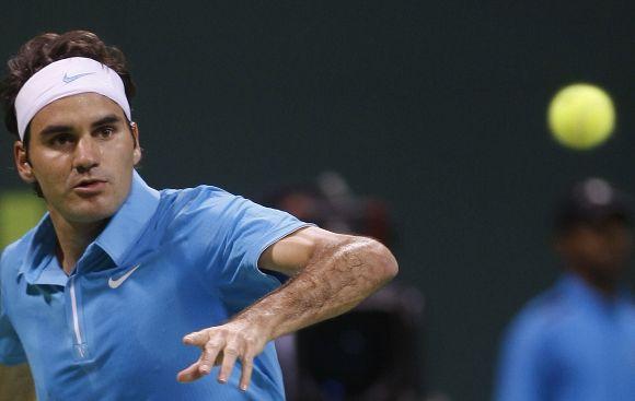 R.Federeris pirmojo rato varžovą įveikė greičiau nei per valandą