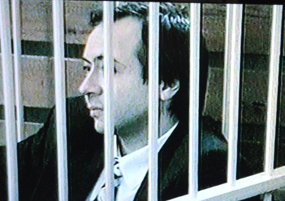 LNK filmuotos medžiagos stop kadras/Boris Dekanidze was the last executed convict in Lithuania