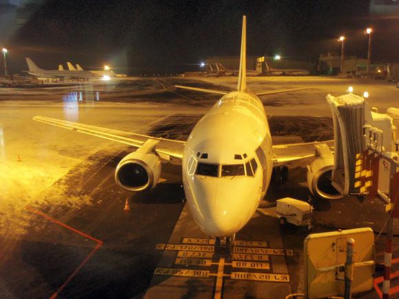 Lėktuvas oro uoste