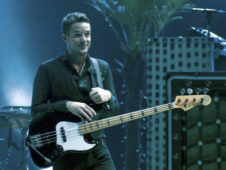 """The Killers""  vokalistas Brandonas Flowersas"