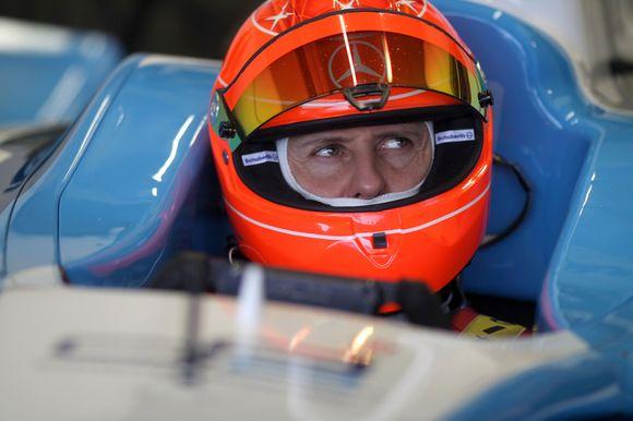 M.Schumacheris tvirtino, jog jaučiausi taip tarsi jo baterijos vėl būtų įkrautos maksimaliai