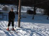 A.Kripaitės nuotr. /Pikteikių slidinėjimo trasoje įrengtas ir keltuvas.