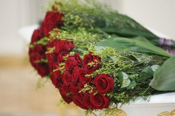 Redo Vilimo/BFL nuotr./Raudonų rožių puokatė