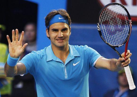 R.Federeris – Australijos pirmenybių pusfinalyje