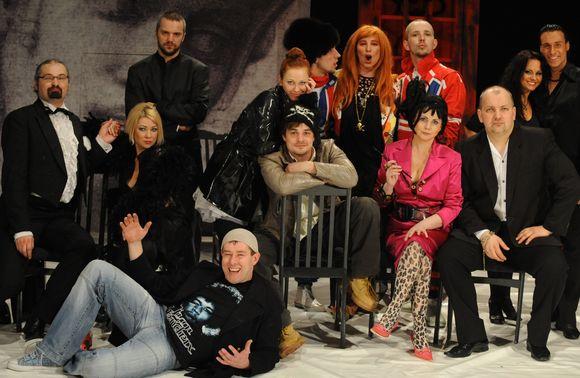 Spektalio aktoriai