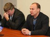 """Juliaus Kalinsko/""""15 minučių"""" nuotr./Rolandas Bučys ir Dmitrijus Medvedevas"""