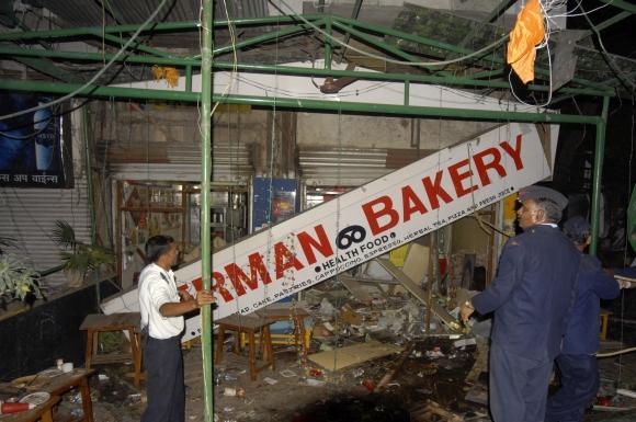Sprogimas nugriaudėjo vokiškos duonos parduotuvėje.