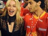 """AFP/""""Scanpix"""" nuotr./Tarp žiūrovų – Madonna ir Jesusas Luzas"""