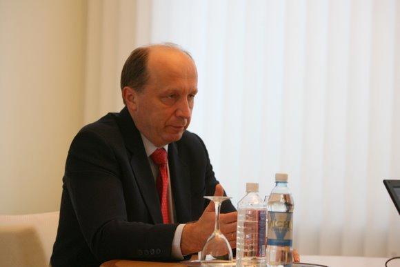 15min.lt konferencijoje Ministras pirmininkas Andrius Kubilius